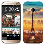 Husa HTC One Mini 2 M8 Mini Silicon Gel Tpu Model Paris