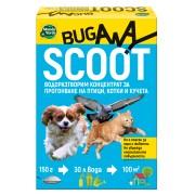 SCOOT praf solubil pentru alungarea păsărilor, câinilor și pisicilor, fără otravuri - 150 gr