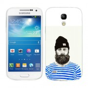 Husa Samsung Galaxy S4 Mini i9190 i9195 Silicon Gel Tpu Model Abstract Man V3