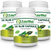 Slim Capsule 500 mg (60 Pure Veg Capsules) For Weight Loss-Pack of 3