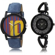 The Shopoholic Blue Maroon Black Combo New Stylist Latest Blue And Maroon And Black Dial Analog Watch For Boys And Girls Stylish Watches For Men