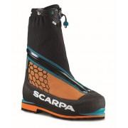 Scarpa Phantom 6000 - Black/orange - Expedition Chaussures 45