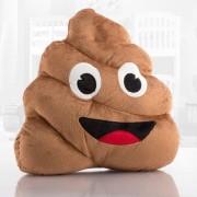 Emoji Bajshög Kudde
