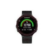 Forerunner® 235 - Preto E Vermelho - Smartwatch Gps Para Corrida E Bike