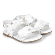 Sandale Fete Bibi Baby Birk Albe-Floral