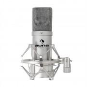Auna Pro MIC-900S USB студиен микрофон с кондензатор сребърен (HKMIC-900-S)