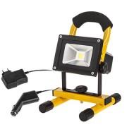Proiector / Reflector LED, cu acumulator, 10W, alimentare 12V si 220V, URZ3359