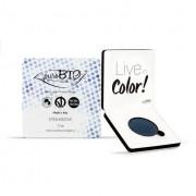 PUROBIO COSMETICS Ombretto in cialda compatto shimmer n.07 Blu