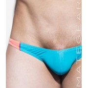 Mategear Roe Yeon Ultra Low Rise Front Ultra Bikini Swimwear Deep Sky Blue 1930901
