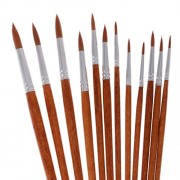 ELECTROPRIME® 5 x 12Pcs Artist Paint Brushes Painting Brush Set Watercolor Painting Drawing