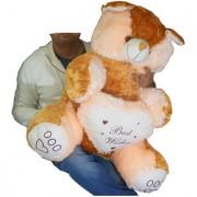 3.5 feet Big Teddy Bear colour Golden