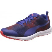 Puma Women's Evader Xt V2 Graphic Royal Blue and Red Blast Multisport Training Shoes - 5 UK/India (38 EU)