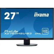 "IIYAMA ProLite X2783HSU-B3 - LED-Monitor - 27"" A-MVA+ - 1920 x 1080 Full HD - 75 Hz - 4 ms - 300 cd/m²"