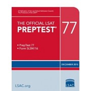 The Official LSAT Preptest 77: Dec. 2015 LSAT, Paperback/Law School Admission Council