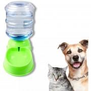 Pack X2 Dispensador Automatico Alimento Y Agua Mascotas
