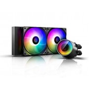 Liquid Cooling for CPU, DEEPCOOL CASTLE 240RGB V2 (DP-GS-H12AR-CSL240V2)