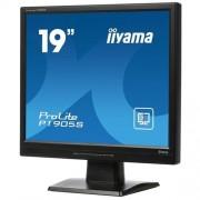 Monitor iiyama ProLite P1905S-B2, 19'', LCD, 1280x1024, 1000:1, 5ms, 240cd, D-SUB, DVI, repro, tvrdené sklo