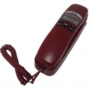 Telefono Alambrico Escritorio Pared Alarma Select Sound 8338 Rojo