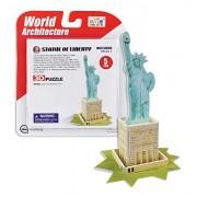 """Daron Statue of Liberty """"Super Mini"""" 3D Puzzle (5 Piece)"""