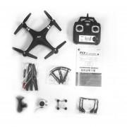 La Lente De ángulo Ancho X52 HD Camera Quadcopter RC 2,4 Ghz WiFi Drone FPV Helicóptero Negro