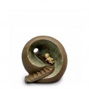 Keramische Art Urn Oneindige Tunnel (1 liter)