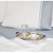 Lenjerie de pat single din bumbac Valentini Bianco VKR21 White