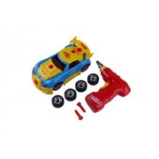 Take Apart Toys for Toddlers Educational Drill Constructables Vehicles Construction Car Play Set Build your Own Race Car Pretend Play Repair Tools Kids Building Racing & eBook