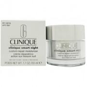 Crema viso notte clinique smart night custom repair moisturizer tipo i pelle da molto arida ad arida 50 ml