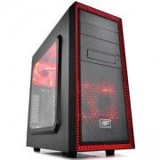 Кутия за компютър DeepCool TESSERACT SW-RD+TRUST Mydo Silent Wireless Mouse RED, DP-ATX-TSRBKRD_21871