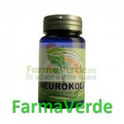 Neurokola 30 Capsule cu Gotu Kola Herbavit