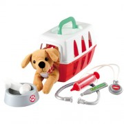 Set Ecoiffier Veterinar cu catel