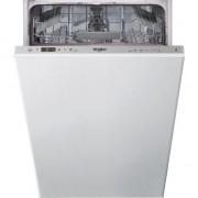 Masina de spalat vase incorporabila Whirlpool WSIC 3M17, 10 seturi, 6 programe, 6th Sense, Clasa A+, 45 cm