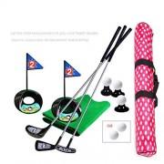 SOWOFA Pelotas de práctica para deportes de interior y golf de 24 pulgadas, 17 unidades con mochila impermeable