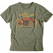 Rokker Speed and Glory T-Shirt Grön 3XL