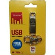 Strontium USB Ammo 64 GB Pen Drive(Silver)