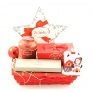 Cos Cadou Craciun Business Red Christmas