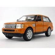 Range Rover Sport Diecast Metal and Plastic 1/38 Scale Truck Model - Orange