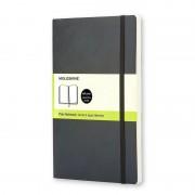 Moleskine Notebook Cuaderno A5 192 Hojas Páginas Lisas Tapa Blanda Negro