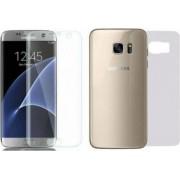 Folie Protectie Tpu Siliconata Himo Pentru Samsung Galaxy S7 Edge Fata plus Spate Transparenta