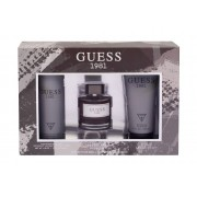 Guess Guess 1981 100Ml Edt 100 Ml + Shower Gel 200 Ml + Deodorant 226 Ml Per Uomo