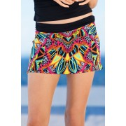 Womens Quayside Skirtini Brief - Kaleidoscope Print