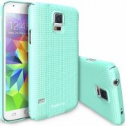 Skin Ringke Eco Slim Dot Samsung Galaxy S5 G900 Mint + Folie