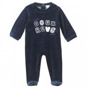 Absorba Pyjama Absorba nuit layette velours-3 mois-marine