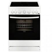 Готварска печка Zanussi ZCV65201WA, клас А, 4 нагревателни зони, 56л. обем на фурната, бяла