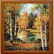 Jesen, uramljena slika