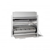 Chad-O-Chef Entertainer - 5 burner Built-in Forced Draught with Warmer Tray