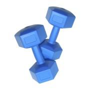 Plastic dumbells 1 kg (pereche)