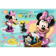 Puzzle Ravensburger - Minnie Mouse, 2x24 piese (08862)
