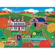 Old Glory Farm 1000pc Puzzle By: Americana Artist Mark Frost