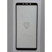 """Zaštitno kaljeno staklo 5D Full Glue za SM-A920F GALAXY A9 2018 (6.3""""), crni rub"""